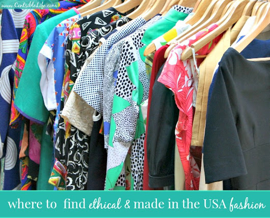 Where To Find Ethical & Made In The USA Fashion - Centsible Life