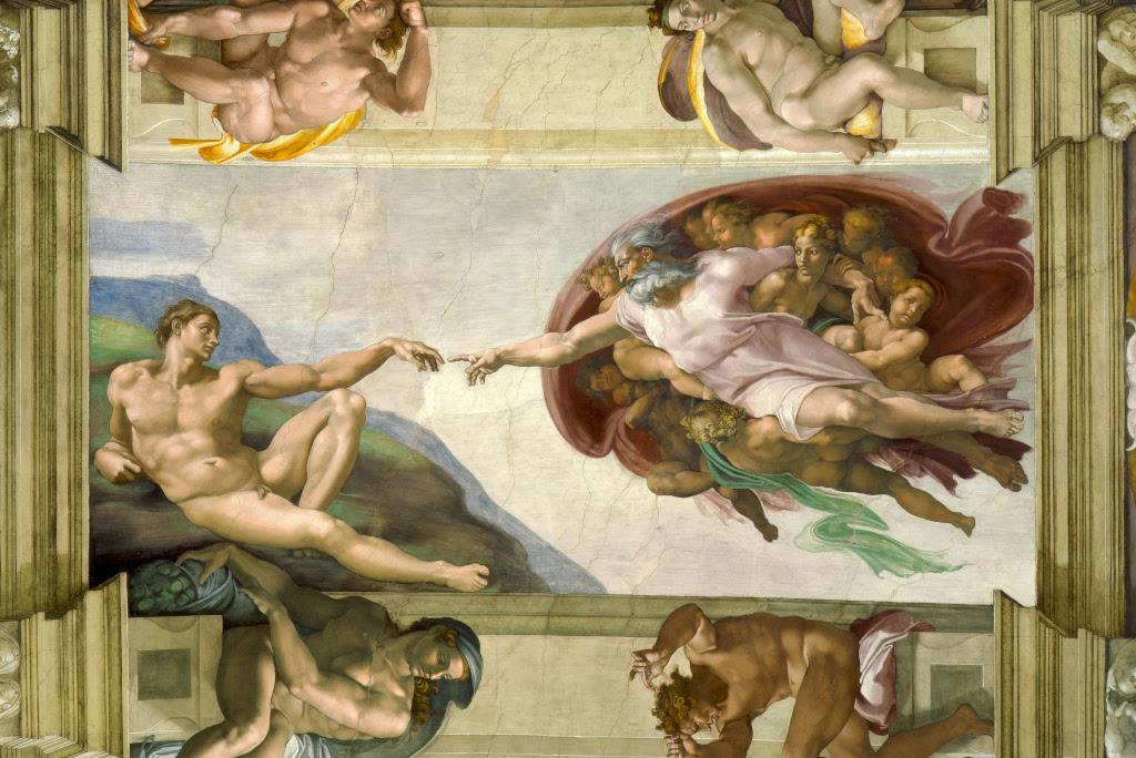 Michelangelo Buonarroti: The Creation of Adam