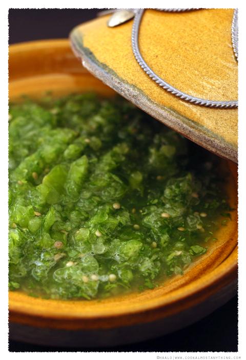 Tomatillo Salsa Verde© by Haalo