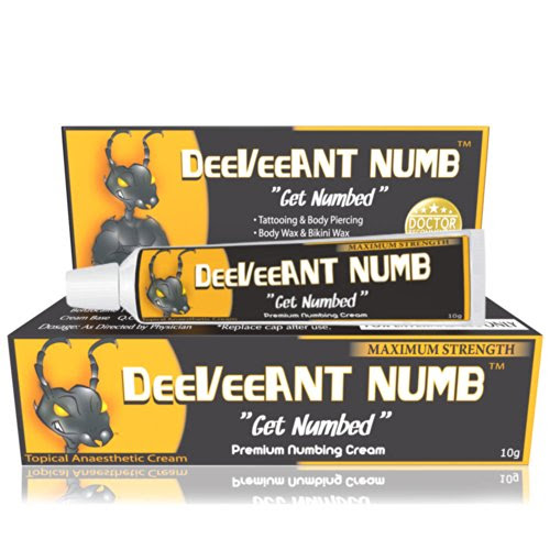 Best Buy Numbing Cream Anesthetic Strong Fast Acting Deeveeant