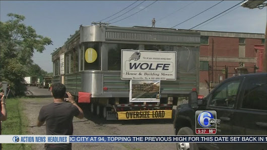 NJ diner saved, on the move |