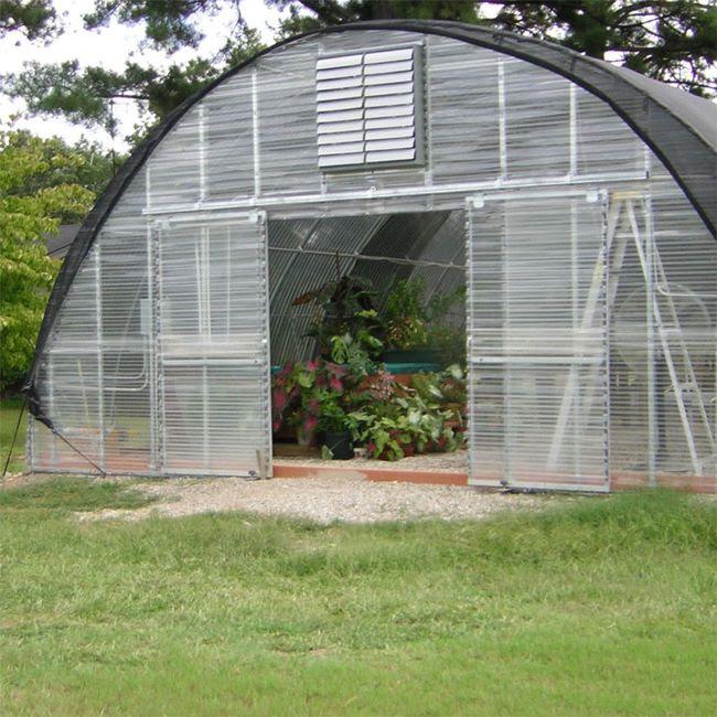 Corrugated Greenhouse Panels