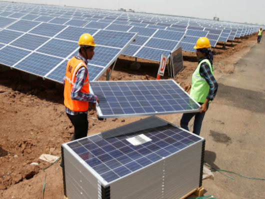 Solar power: Chinese imports edge out domestic solar players - Times of India