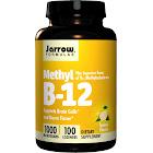 Jarrow Formulas Methyl B-12, 1000 mcg, Lemon, Lozenges - 100 count