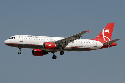 Qeshm Airlines (Asian Express Airline) Airbus A320-214 EY-632 (msn 617) DXB (Paul Denton). Image: 921974.