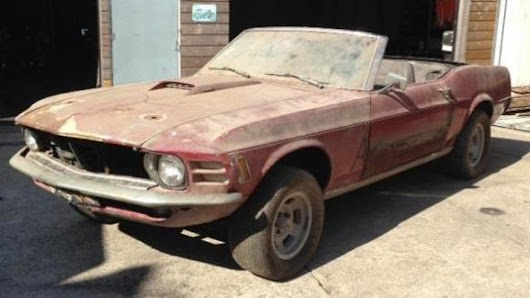 Rare 4x4 Ford Mustang surfaces in The Netherlands