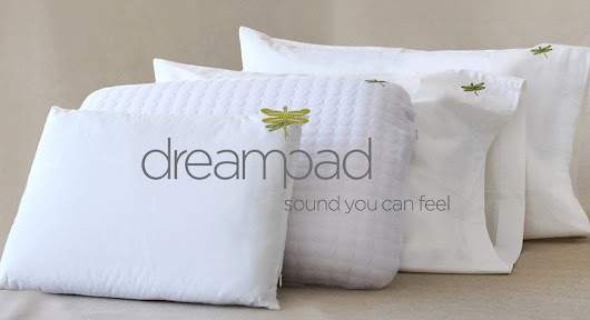 The Dreampad therapeutic pillow wants to help you rest easier