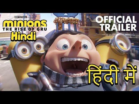 Minions - The Rise of Gru Trailer in Hindi