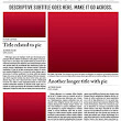 Newspaper Template for Adobe InDesign CS6
