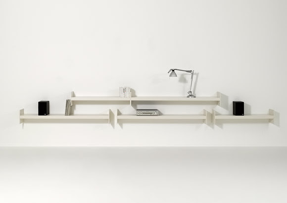 Simple Shelf System That Offers A Lot Of Room For Books – Wink by ...