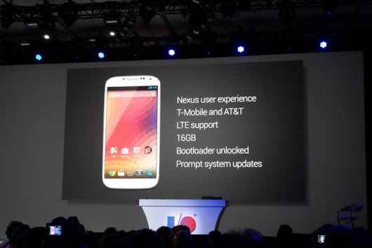 "Google Announces Samsung Galaxy S4 With ""Nexus User Experience"" – Droid Life"