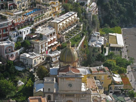 Tourist Attractions in Positano Italy