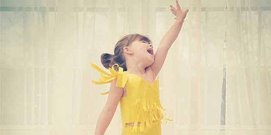 This 4-Year-Old Makes Paper Dresses With Her Mom -- And They Keep Getting MORE Outrageous