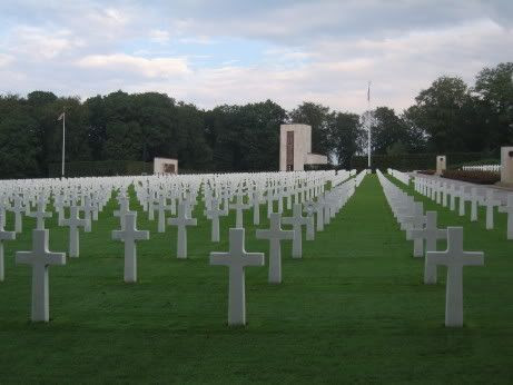 American Cemetery and Memorial located in Hamm, Luxembourg