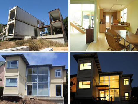 Free Home Architecture Design on Cargo Crate Homes