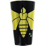Breaking Bad Yellow Moth 16oz Foil Print Pint Glass
