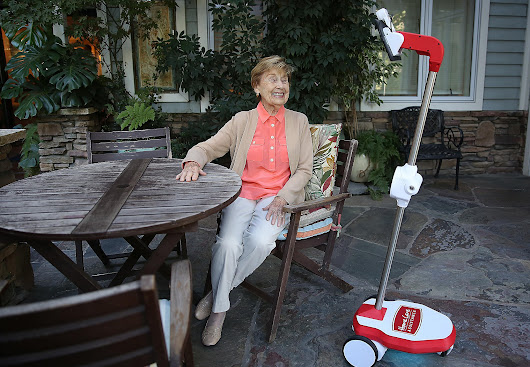 Robots to help families check in on Bay Area seniors