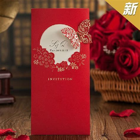 Festa 2016 New Elegent Red Butterfly Chinese Style Wedding