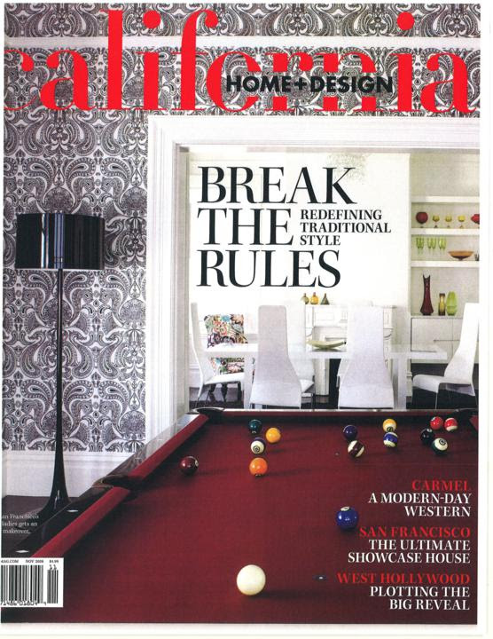 California Home Design Magazine Perfection Painting Inc
