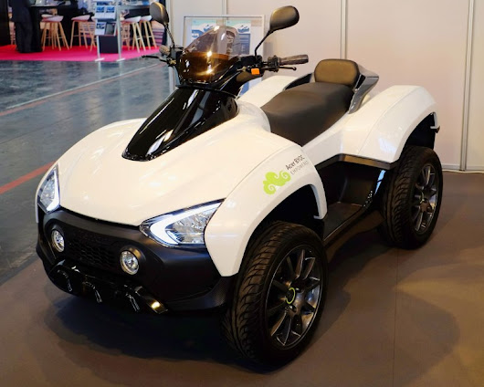 Acer is launching an electric all-terrain vehicle