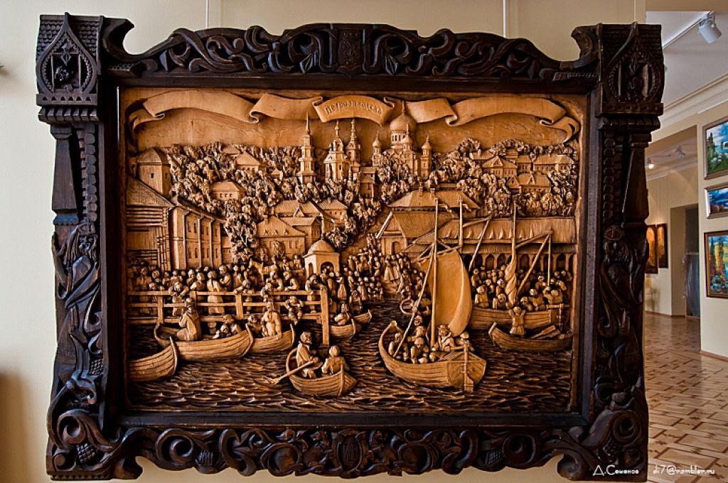 As incríveis pinturas esculpidas de Kronid Gogolev 12
