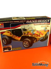 Maqueta de coche 1/20 SpotModel - Iwahori - Sand Buggy Mayers Manx   - maqueta de plástico image