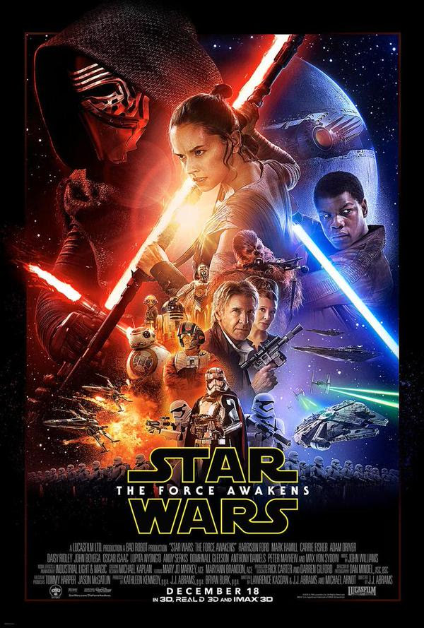 The Force Awakens Poster, Trailer, & Tickets | Anakin And His Angel