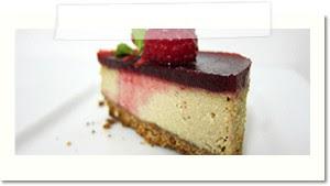 cheesecake framboise vegan