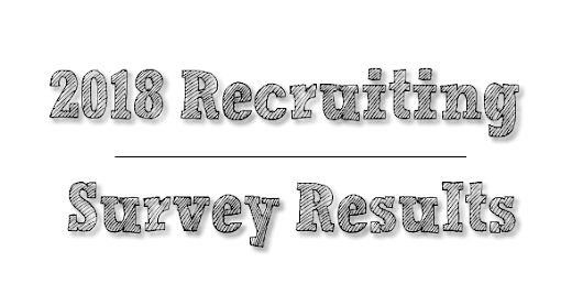 2018 Recruiter Survey Results | Recruiting Headlines