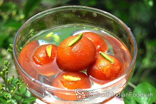 Instant Gulab jamun-How to make-Step by step photos & Video