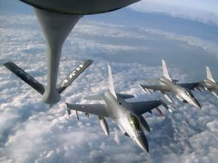 Συνετρίβη τουρκικό μαχητικό F-16 στα σύνορα με την Συρία κατά την διάρκεια air-refuelling