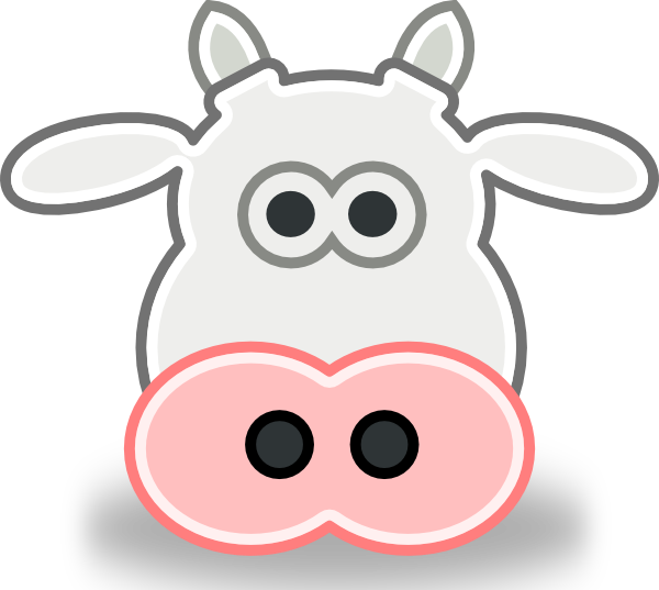 Free Cartoon Cow Face Download Free Clip Art Free Clip Art On