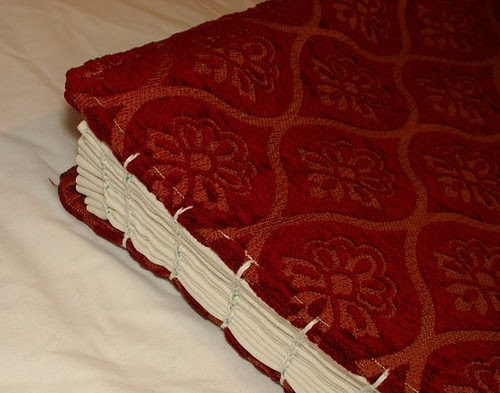 sampler book spine