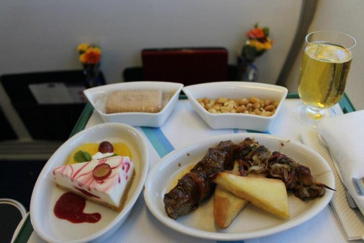 Air Tanzania meal