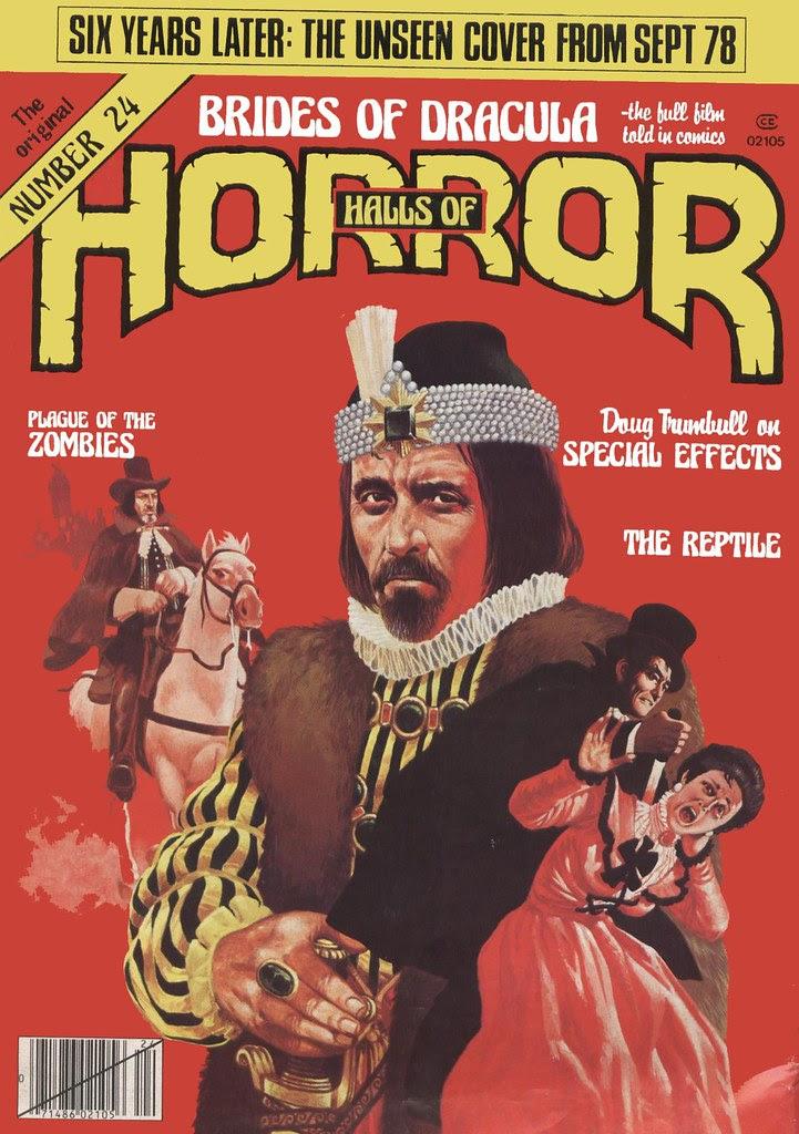House Of Hammer Magazine (Halls of Horror) - Issue 24 (1982)