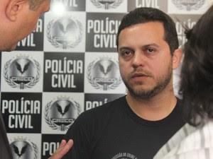 Delegado Carlos César, coordenador do Greco, no Piauí (Foto: Fernando Brito/G1)