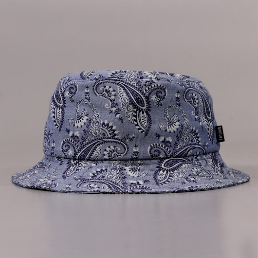 Paisley Bucket Hat from The Quiet Life 2014