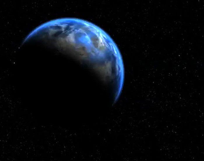 An artist's concept of the water(?) world Gliese 581d.