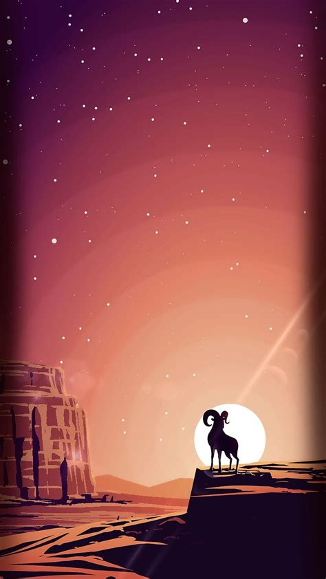 sunset vector tap    cute cartoon wallpapers