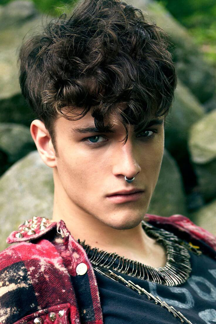 Top 5 Curly Hairstyles for Men