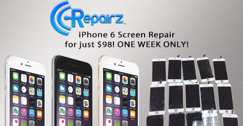 "iPhone 6 Screen Repair ""On A Tuesday"" Sale 