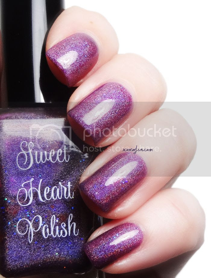 xoxoJen's swatch of Sweet Heart Polish Clementine