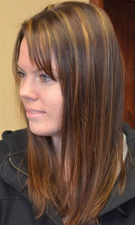 vivid hairstyle ideas  highlighted hair