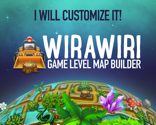 Customize Wirawiri: Tileable Game Level Map by weirdeetz