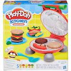 Play-Doh Burger Barbecue Set - Modeling dough play set