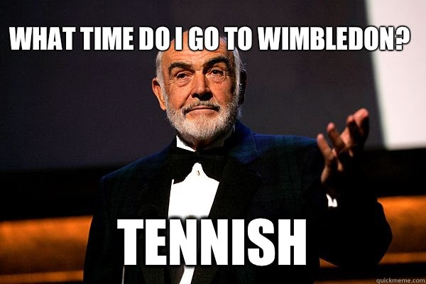 Image result for wimbledon meme