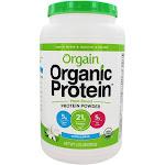 Orgain Organic Protein Plant Based Powder Sweet Vanilla Bean 2.03 lbs.