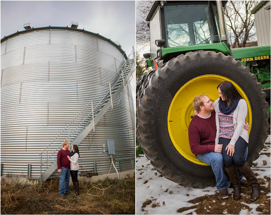 Sydney and Jeff Engagement Session - Sioux Falls Wedding Photographer