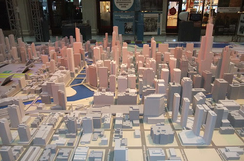 Scale model Chicago
