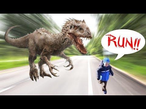 video que muestra el Miedo a los Dinosaurios de un niño